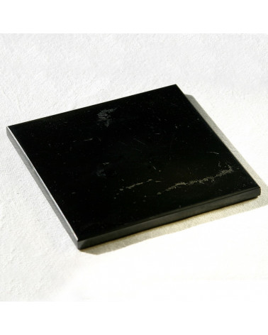 Plaque de shungite polie